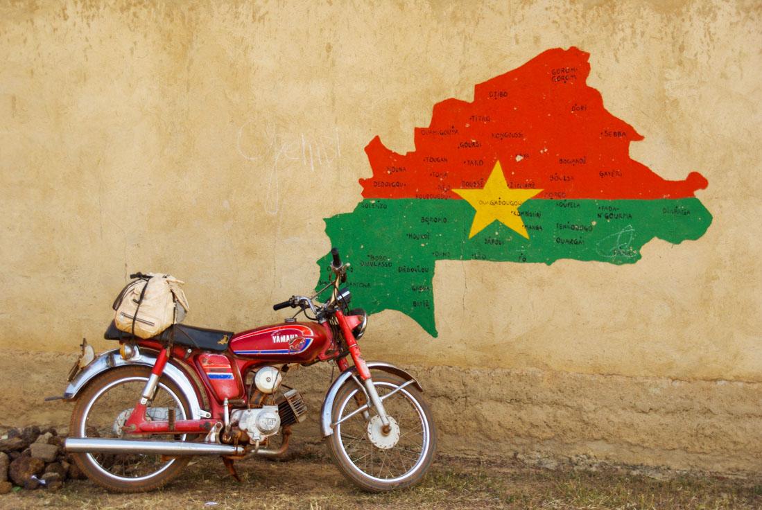 Souvenirs du Burkina Faso