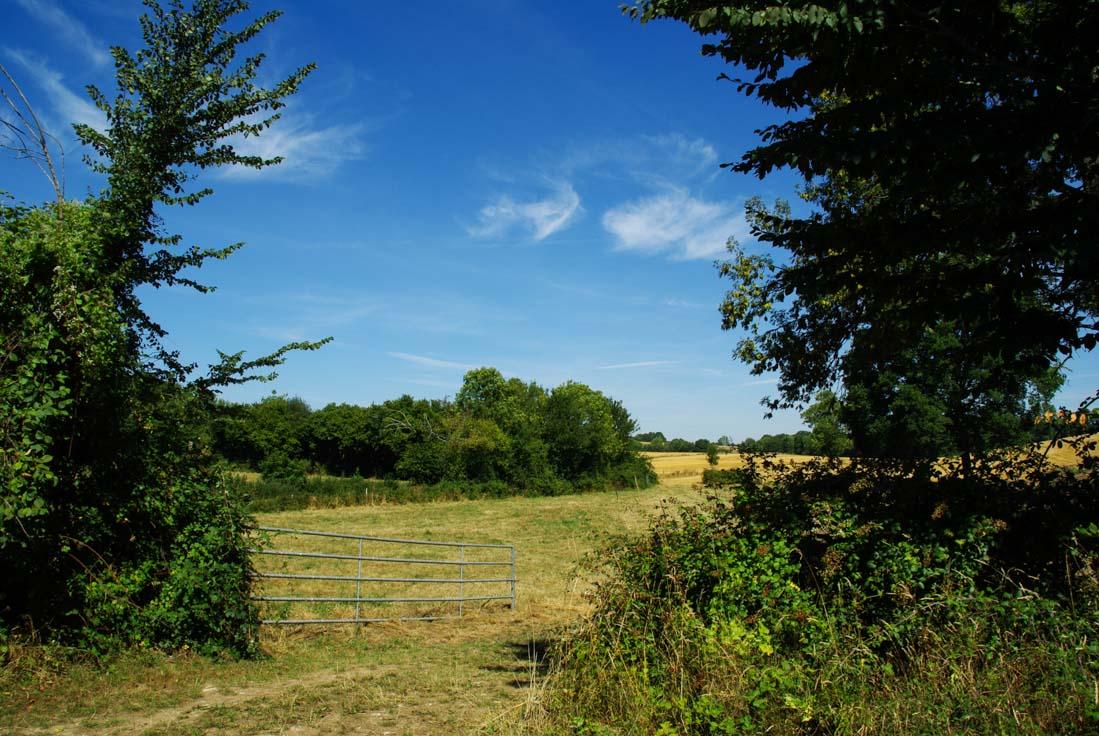 paysage agricole du perche