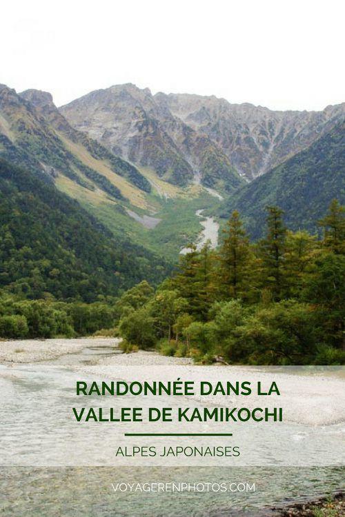 Randonnée dans la vallée de Kamikochi, une excursion dans les Alpes Japonaises à réaliser facilement depuis Takayama