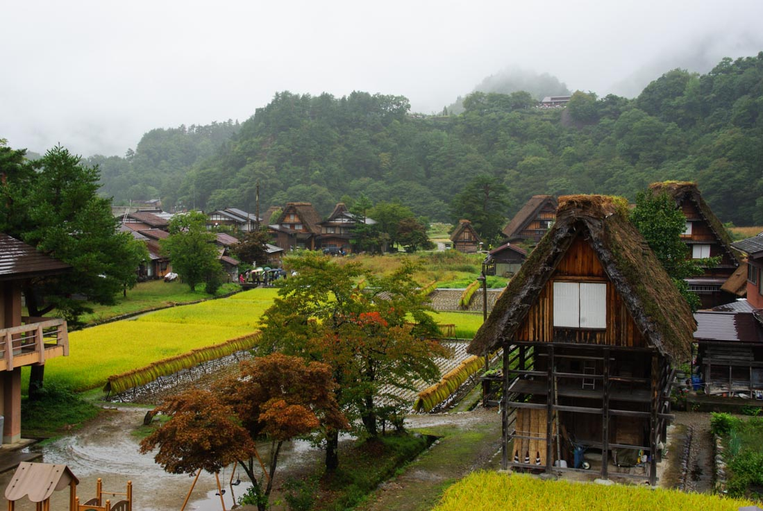 Shirakawago, un village traditionnel des Alpes Japonaises