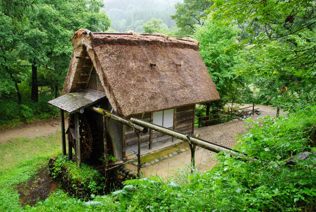 moulin gassho - Shirakawa-go