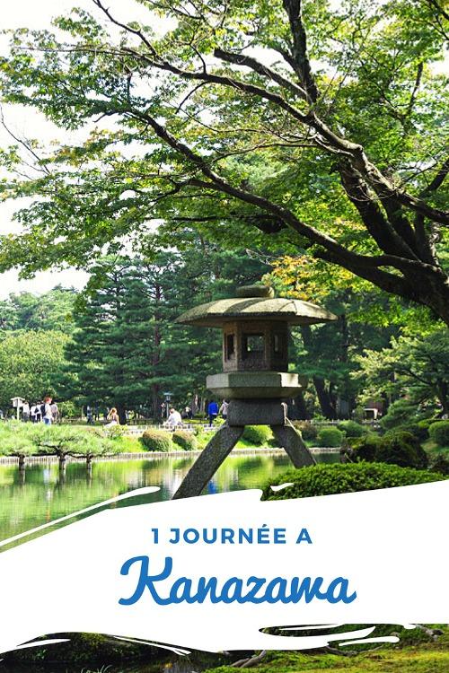 Que voir à Kanazawa en une journée, une ville à découvrir sur la côte Nord d'Honshu : le marché au poisson, le jardin zen Kenrokuen et le quartier des samourais. Japon