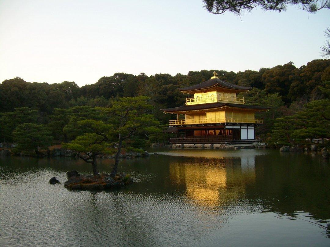 Temple Dor Kinkaku Ji Kyoto