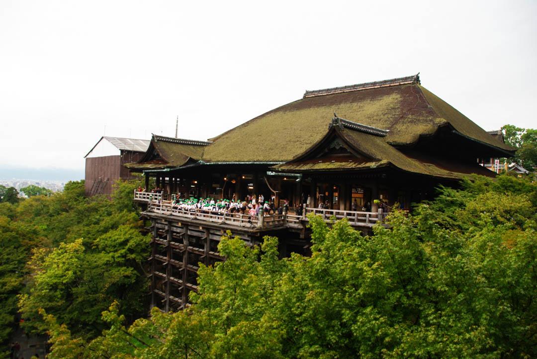 bâtiment principal du temple Kiyomizu Dera