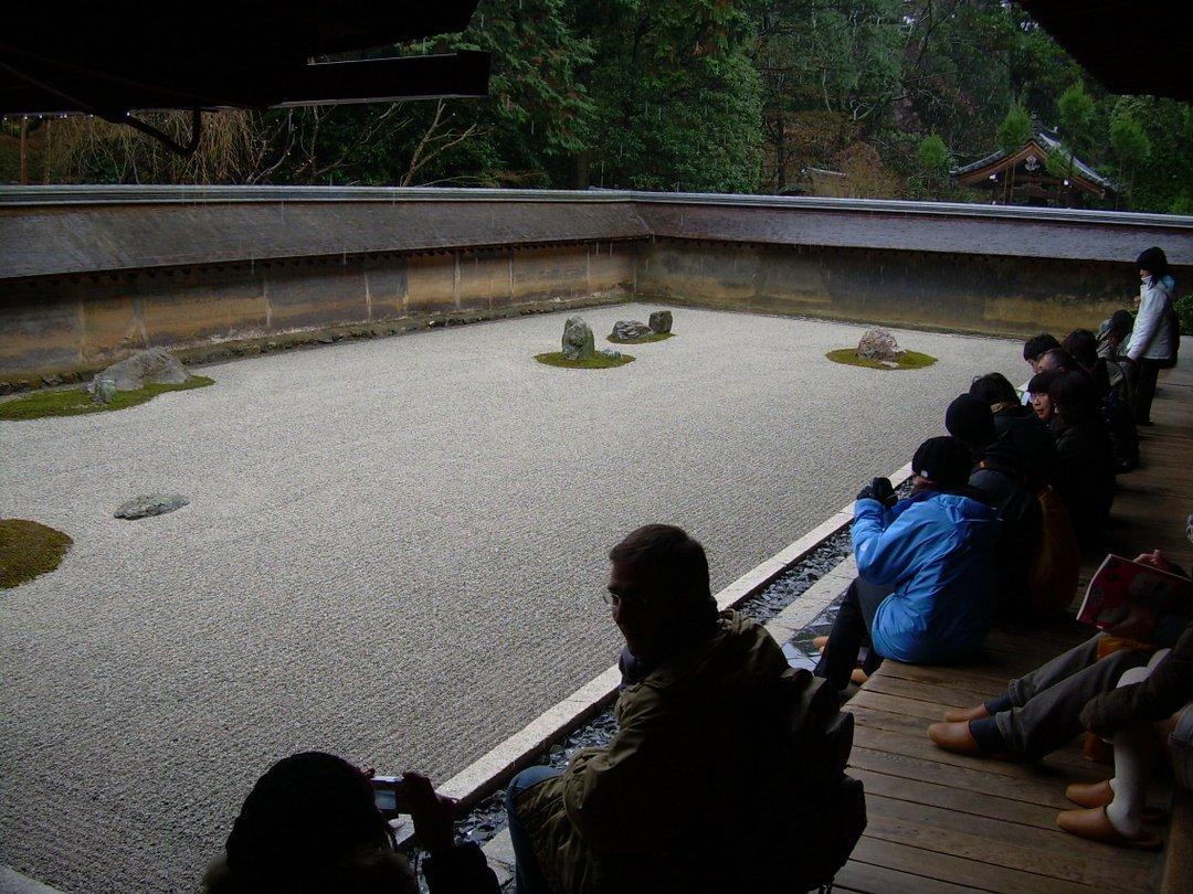 Jardin zen du Ryoan-ji - Kyoto