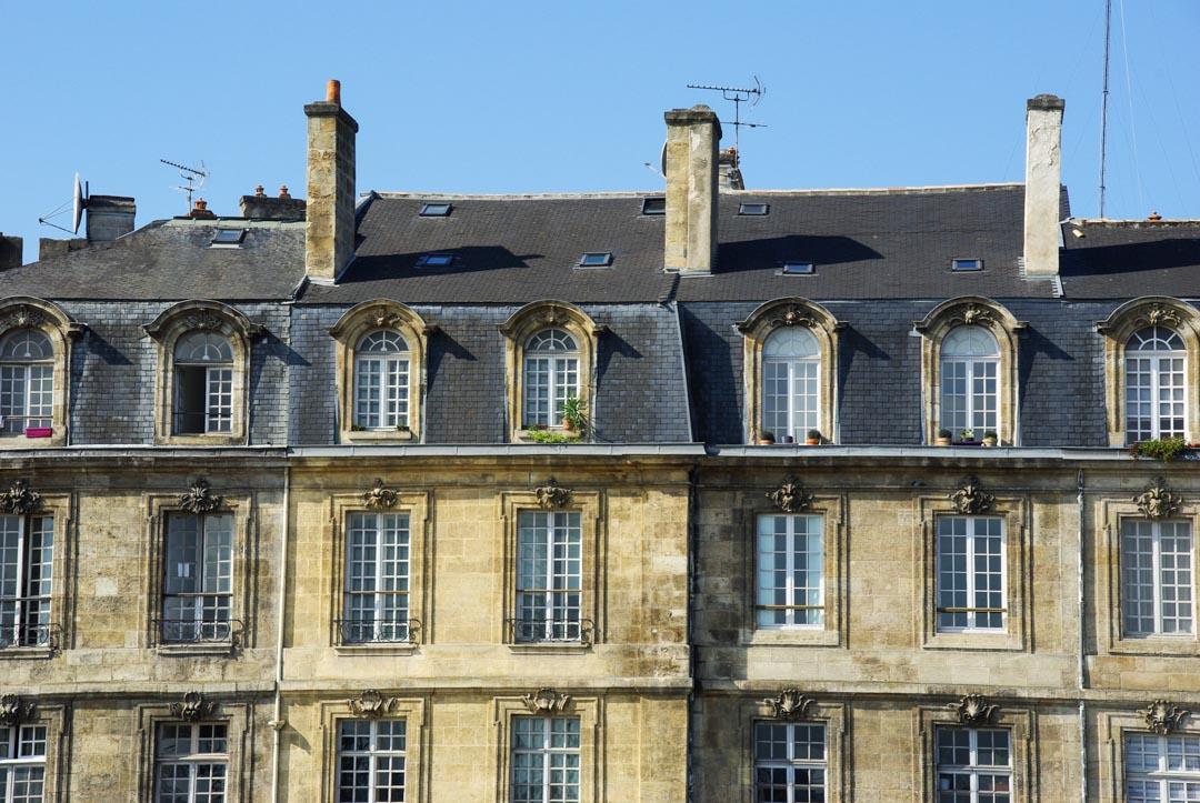 façades de bordeaux