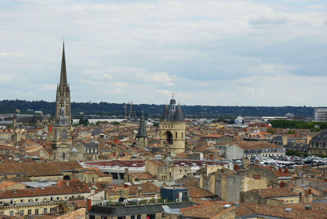 Panorama depuis la tour Pey Berland - Bordeaux