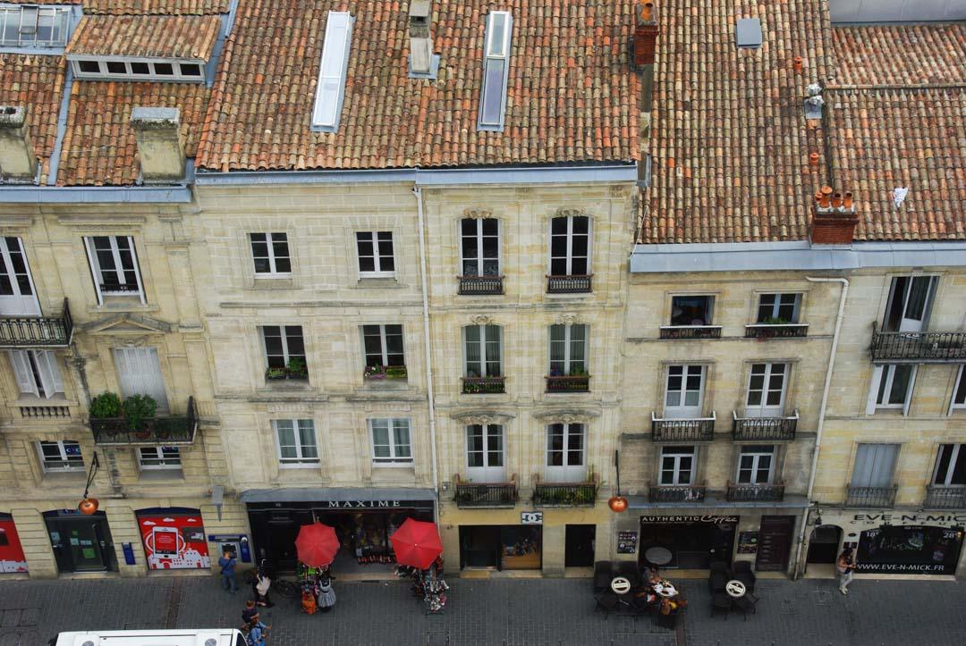 Bordeaux vu de haut