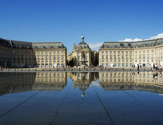 le miroir d'eau - Bordeaux