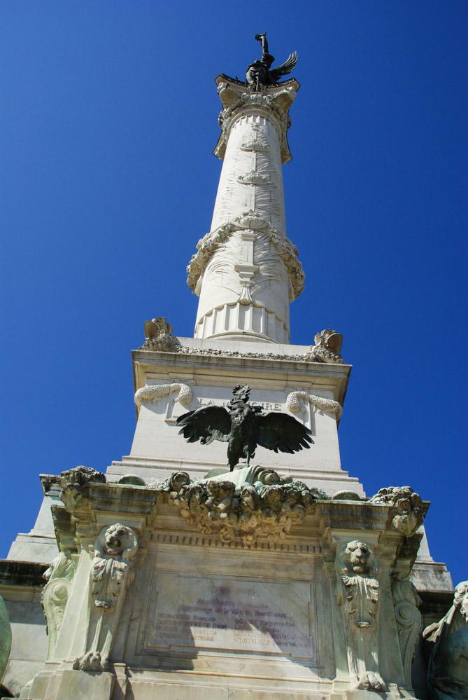 monuments des Girondins - Bordeaux