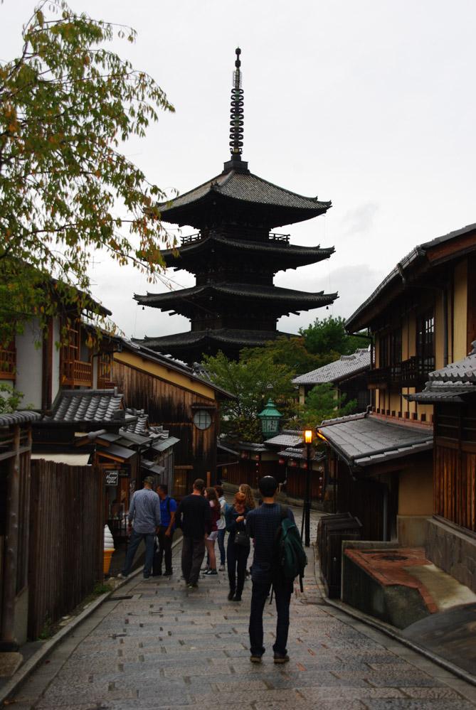 ruelle du quartier de Gion