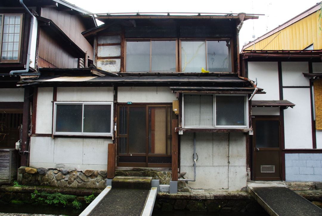 petite maison japonaise à hida furukawa
