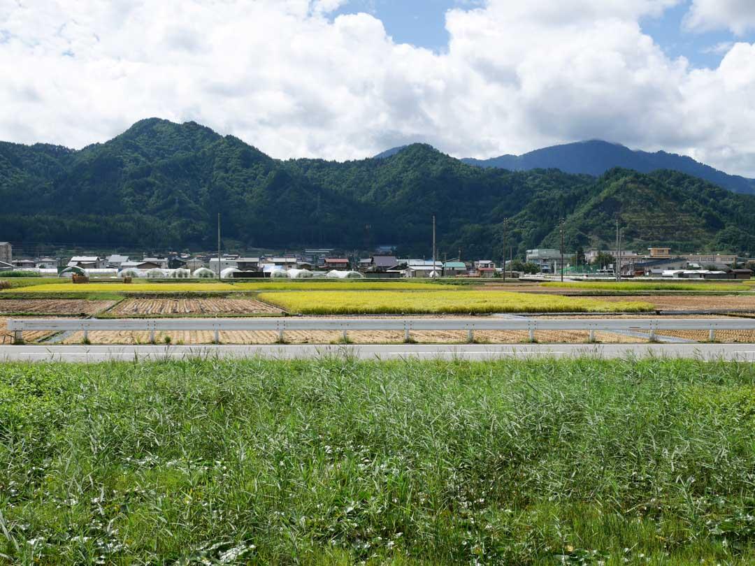 La campagne japonaise autour d'Hida Furukawa