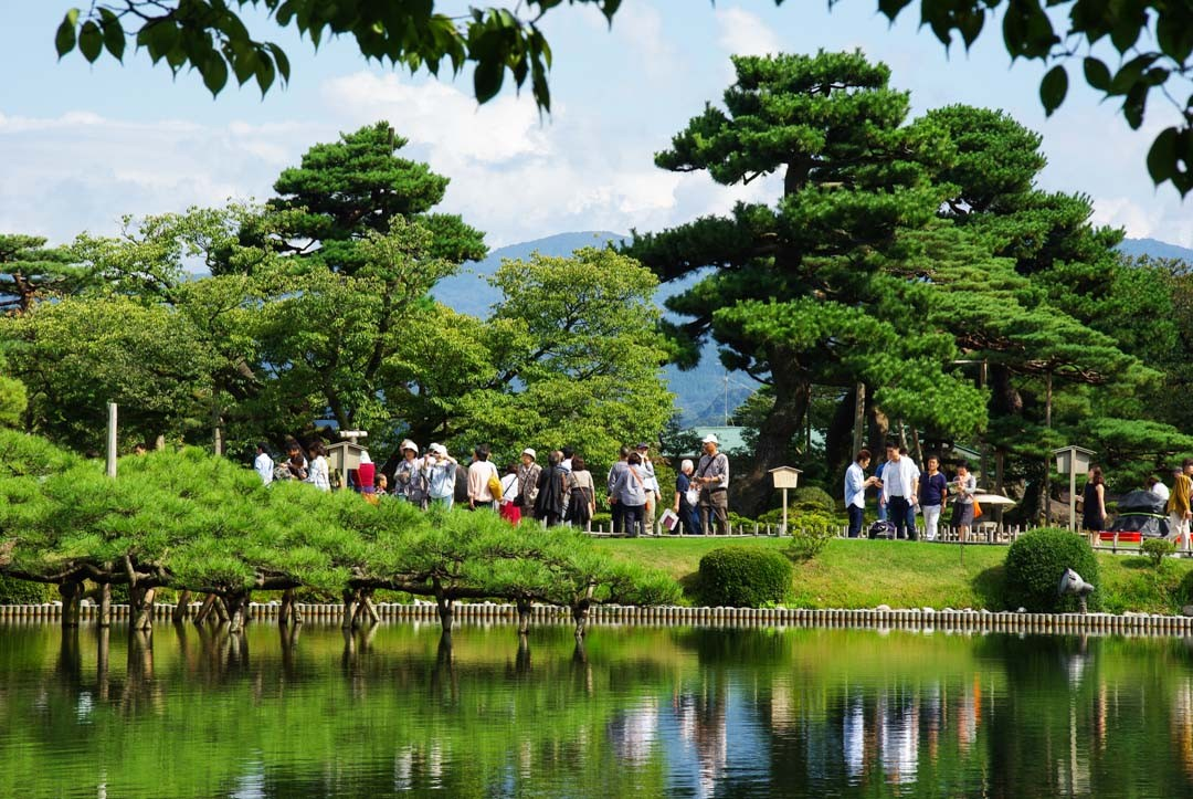 Etang Kasumigaike - jardin Kenrokuen