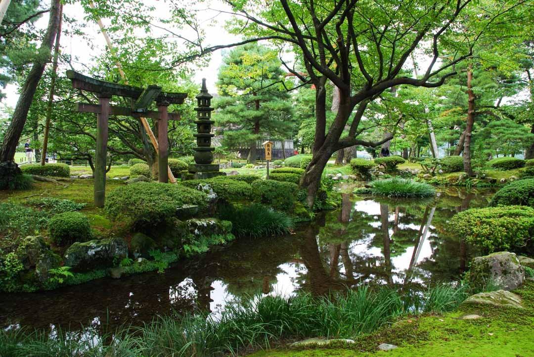 ile de Sekirejima - jardin Kenrokuen - Kanazawa