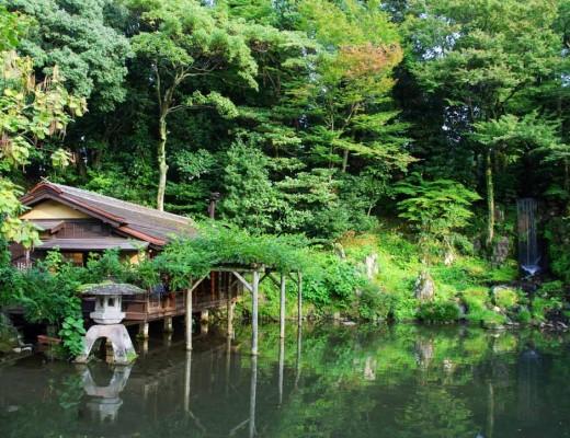 maison de thé shiguretei - jardin Kenrokuen - Kanazawa
