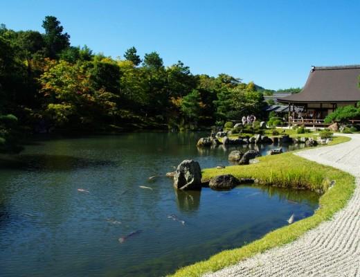 lac tenryu ji - Kyoto