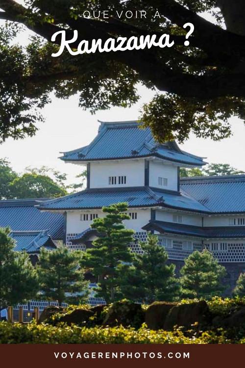 Que voir à Kanazawa ? Visite des quartiers historiques, du Kenroku-en, l'un des 3 plus beaux jardins du Japon et du château