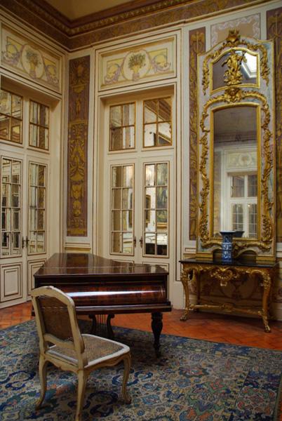 Salle de la lanterne - palais de Queluz