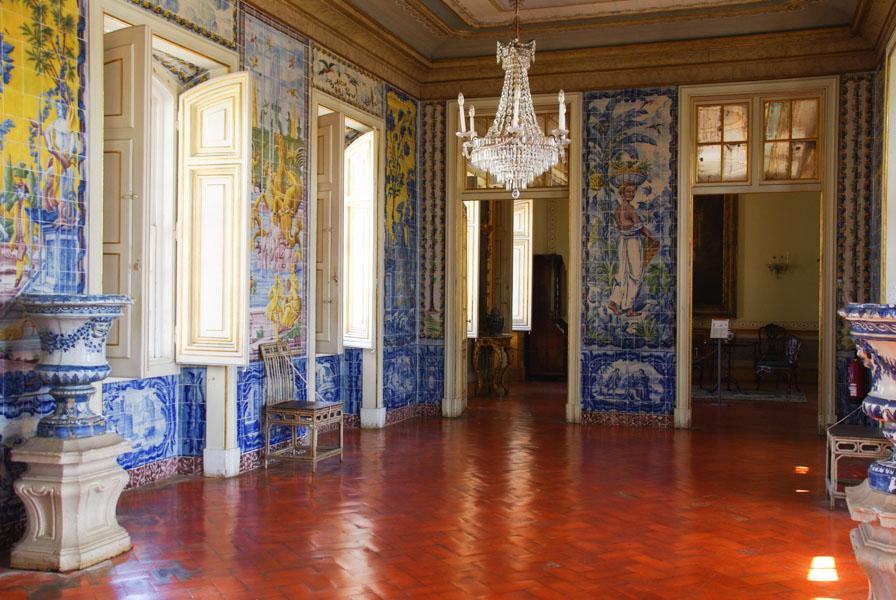 Salle des Azulejos - Palais de Queluz