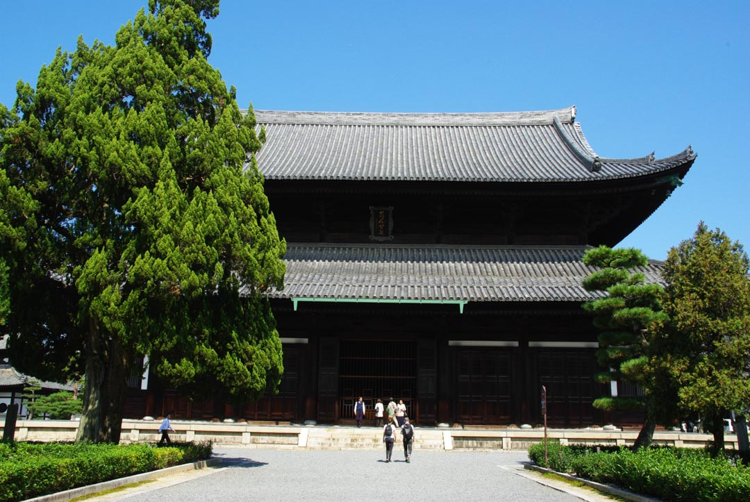 batiment principal du temple Tofukuji - Kyoto