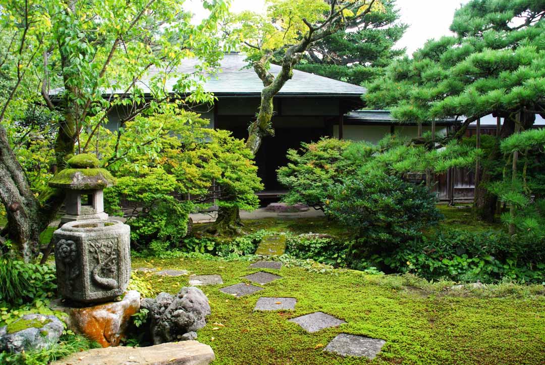 Jardin - Villa Sei Son Kaku - Kanazawa