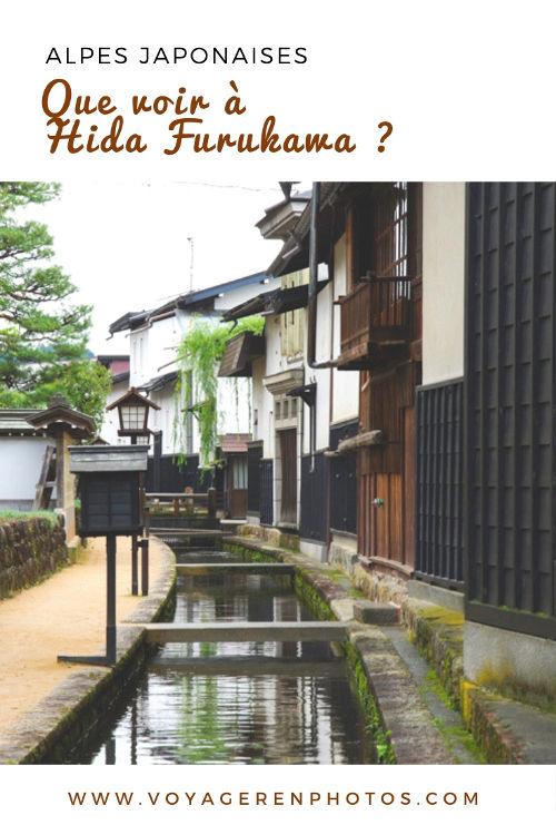 Que visiter à Hida Furukawa, une ville traditionnelle dans les Alpes Japonaises - Japon
