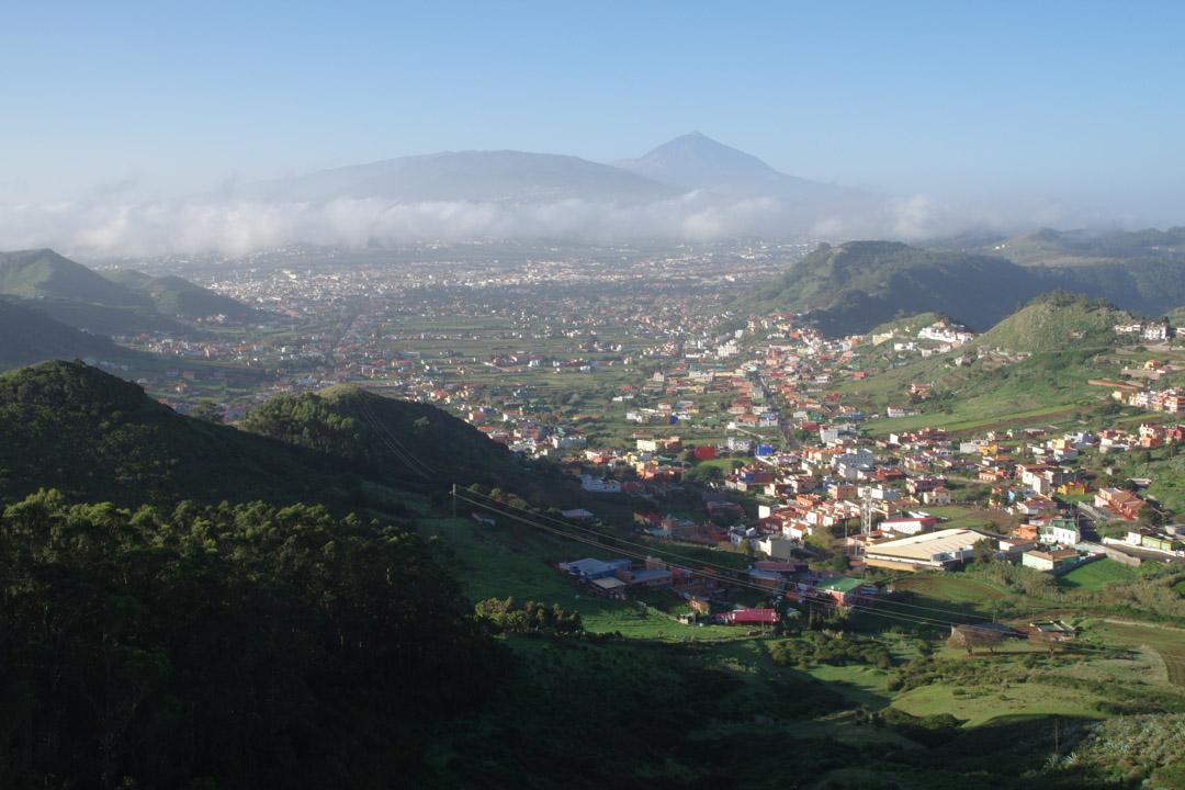 Panorama depuis le mirador de la Cruz del Carmen