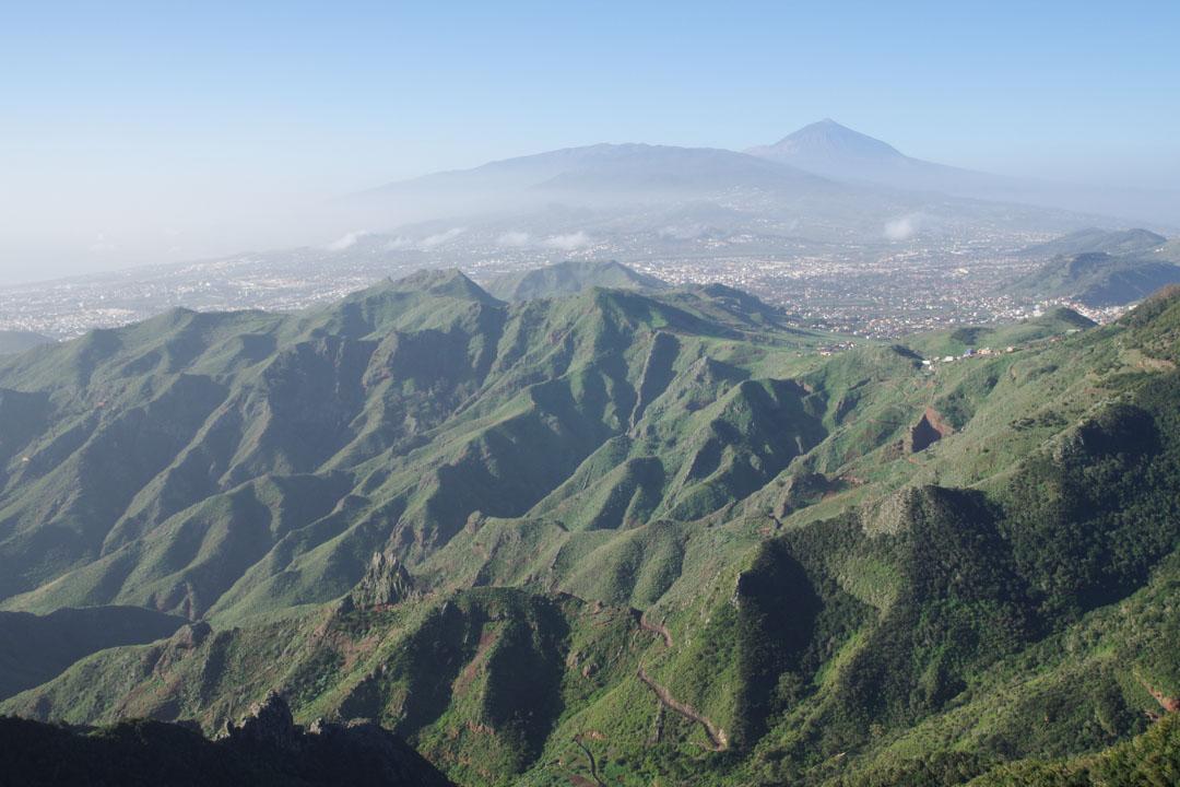 point de vue du pic des anglais - Tenerife