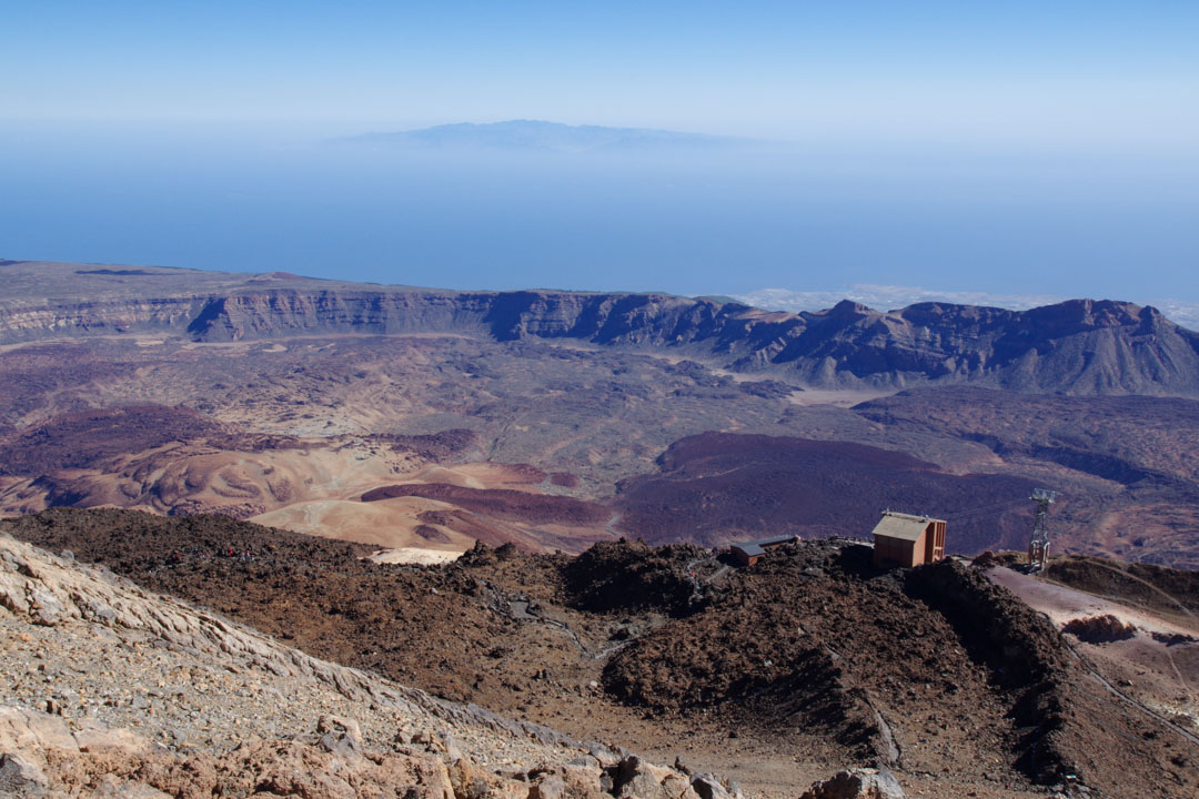 Panorama sur la Caldera du Teide - Tenerife