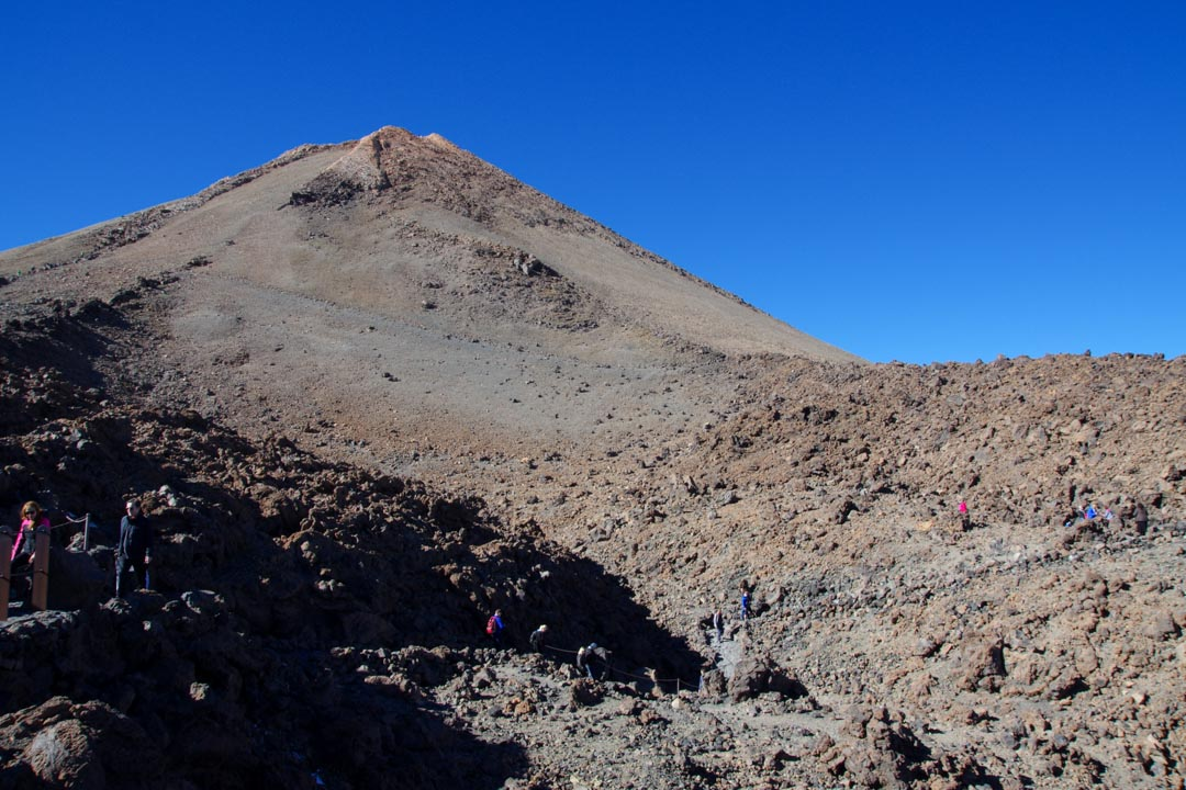 Le sommet du Teide
