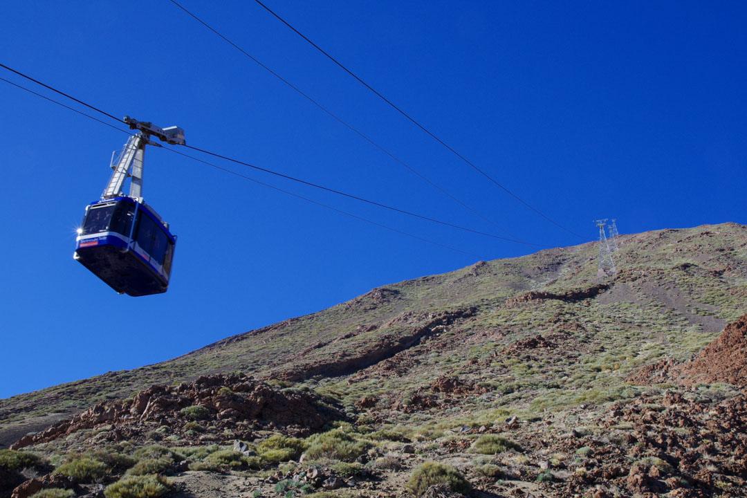 le téléphérique du Teide - Tenerife