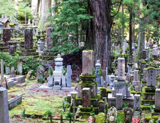 tombes - cimetière de l'Okuno-in - Koya-San