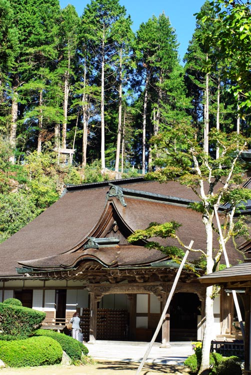 temple de la pagode Taho-To à Koya-San