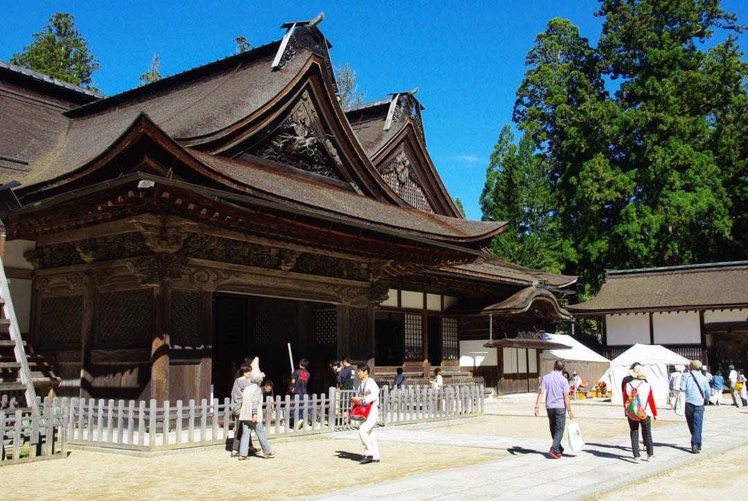 entrée du temple Kongobuji