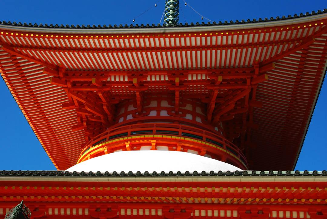 La grande Pagode de Koya-San