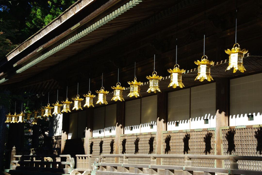 lanternes - temples de Koya-San