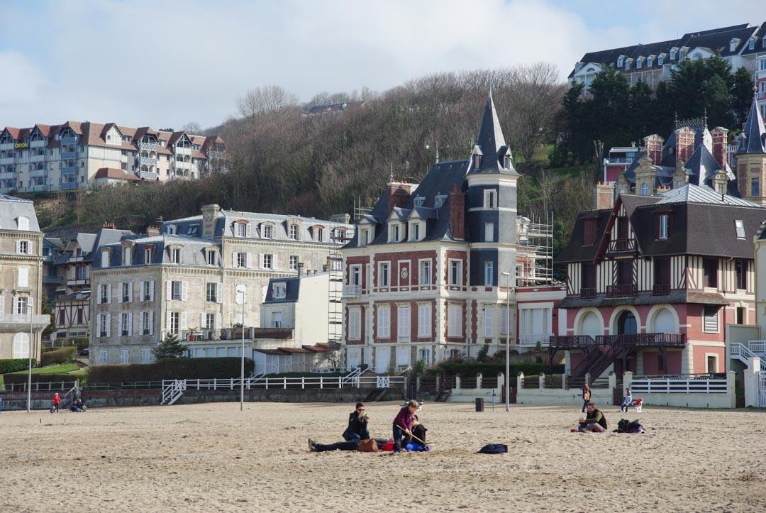 plage de Trouville - Normandie
