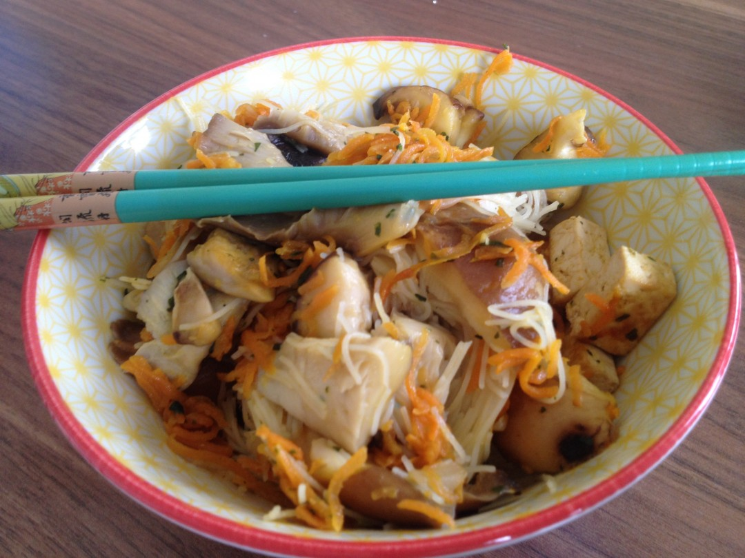 Recette de nouilles japonaises végétariennes
