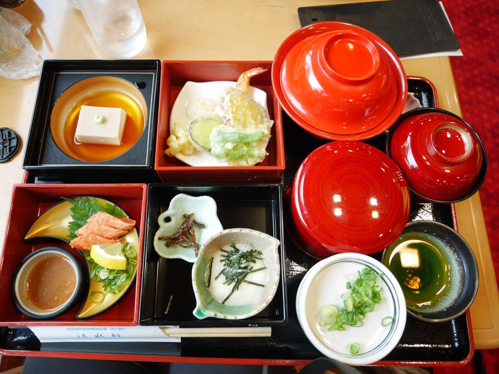 plateau repas japonais