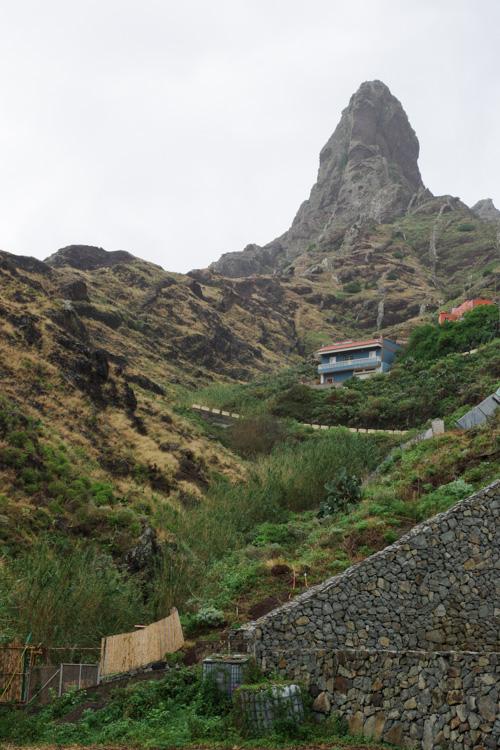 randonnée près d'Afur dans l'Anaga