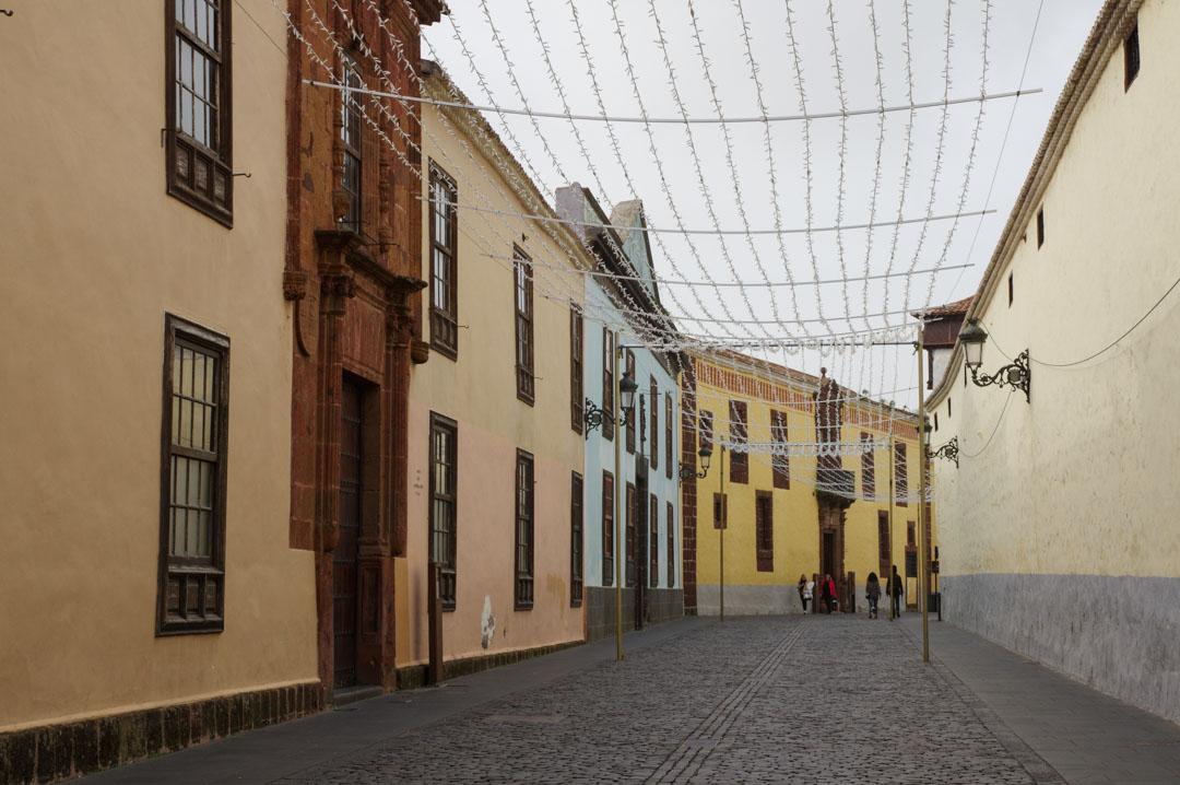 Balade dans le centre historique de La Laguna