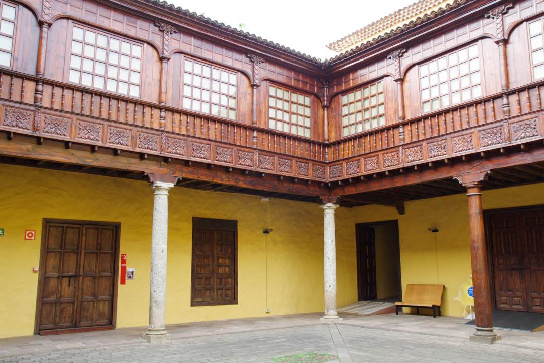 Cour du musée de l'Histoire de Tenerife