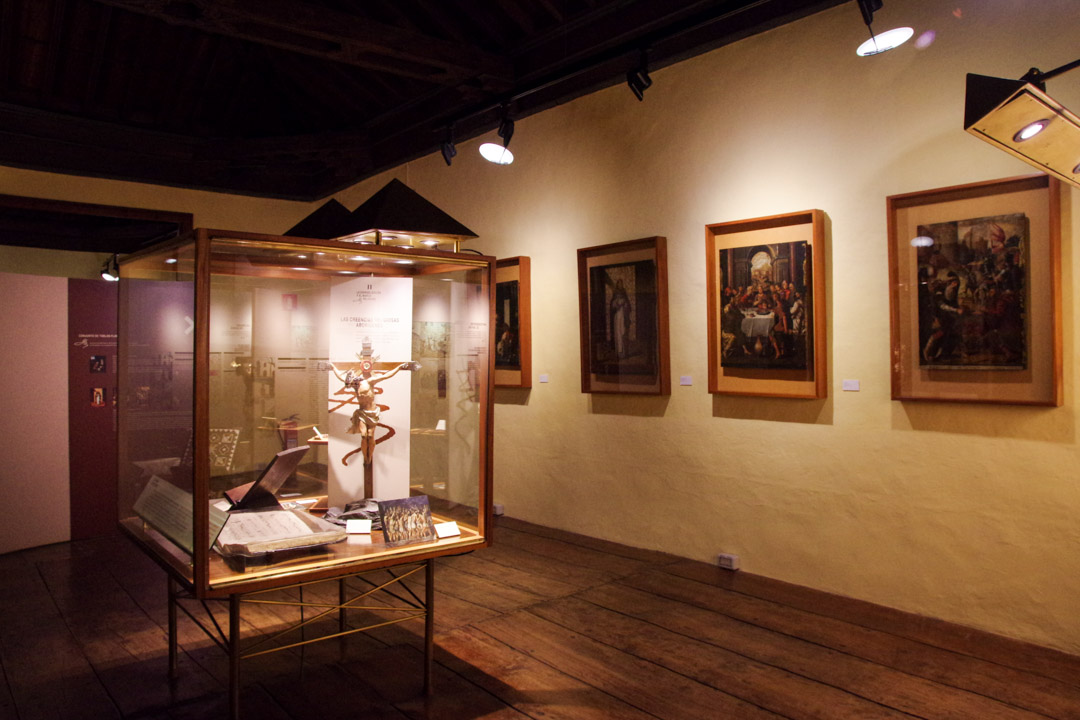 intérieur du musée de l'histoire de Tenerife