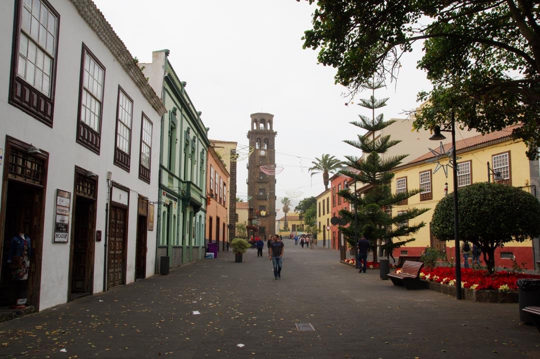 Rue principale de La Laguna