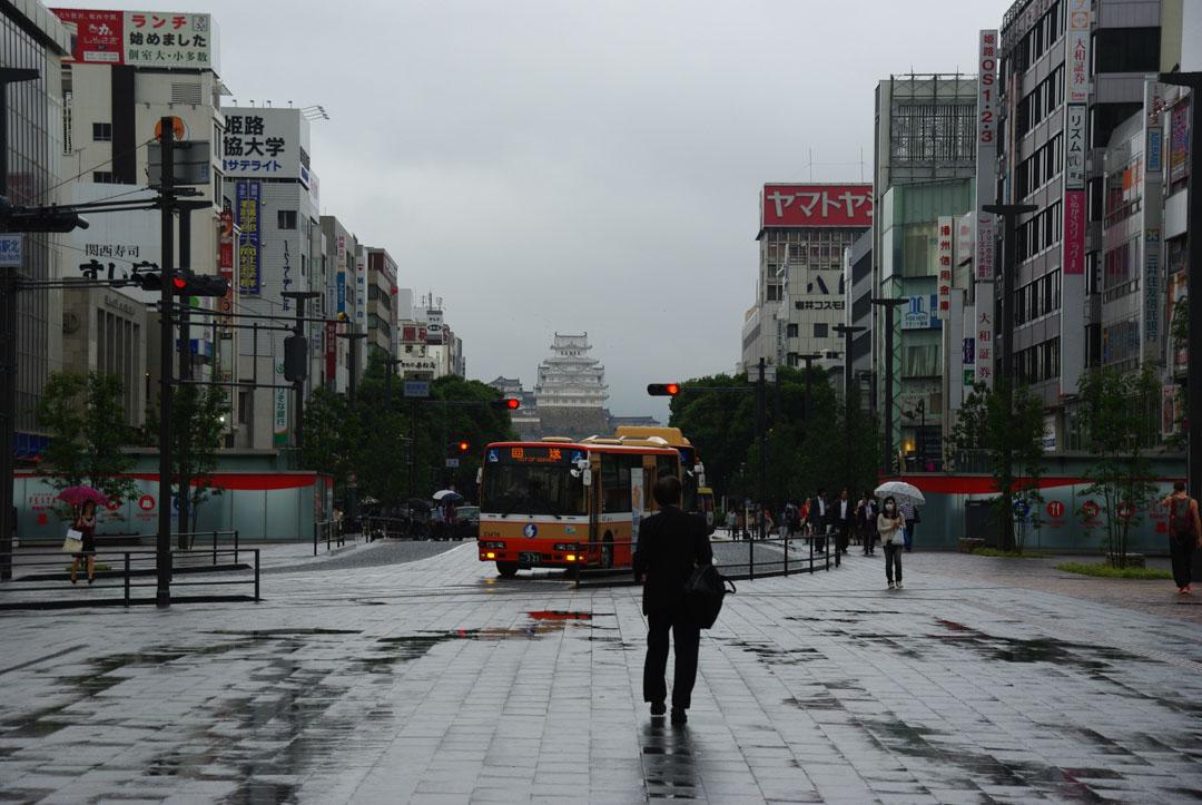rue principale d'Himeji