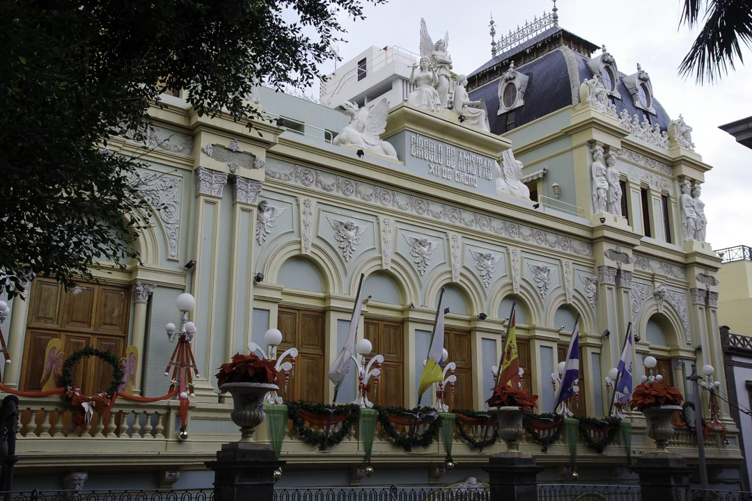 Santa Cruz la capitale de Tenerife