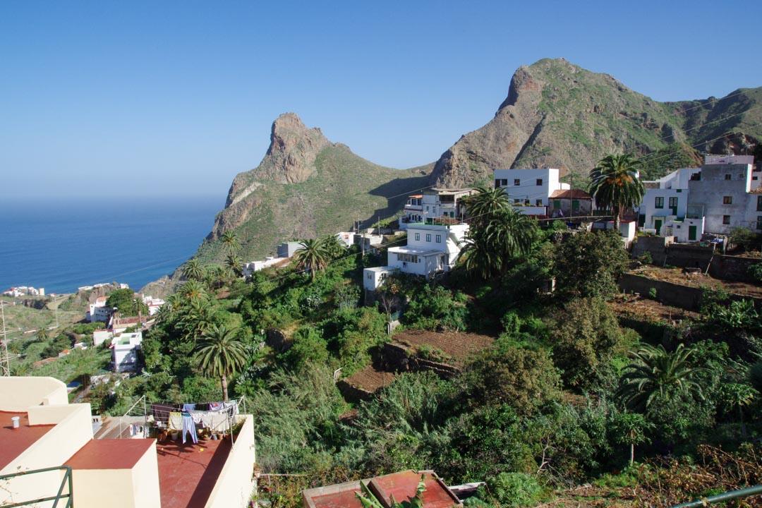panorama sur Taganana