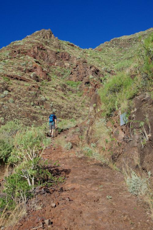le chemin de San Igueste au Semaphore - Tenerife
