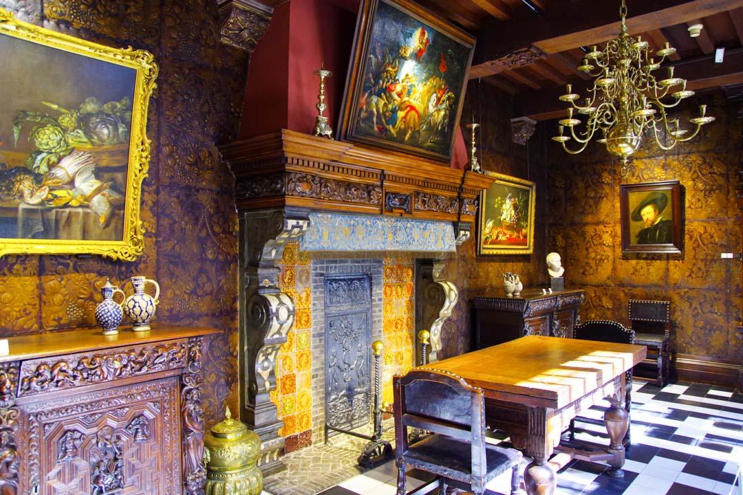 intérieur de la Maison de Rubens - Anvers